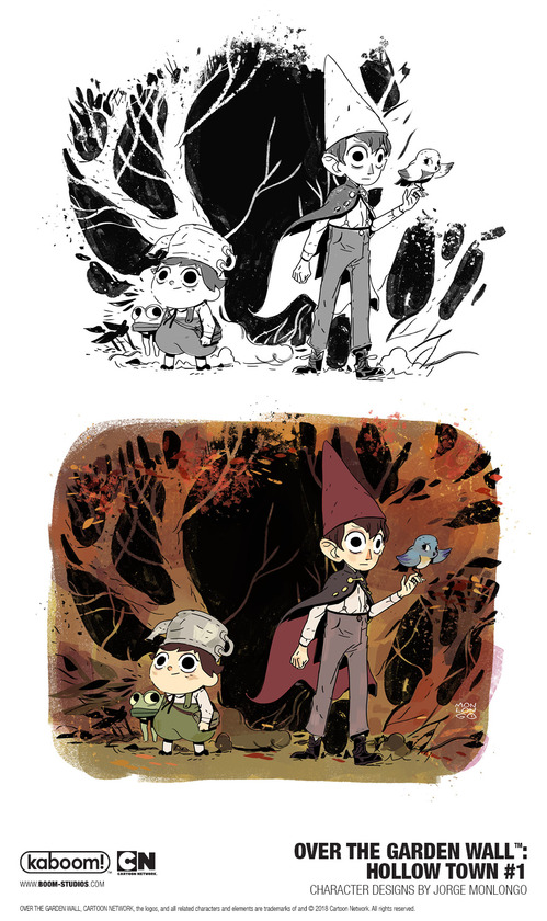 Exclusive Return To The Unknown In Over The Garden Wall Hollow