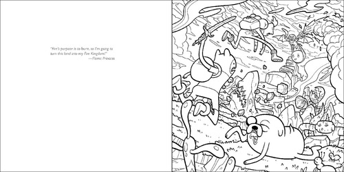 Whoa! Check Out This Mathematical Adventure Time Official Coloring Book  Preview - Paste