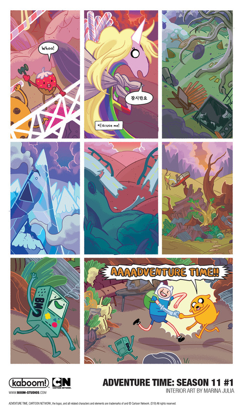 Return to the Land of Ooo in this Adventure Time Season 11