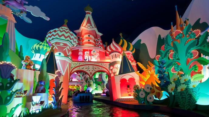Disneyland Paris its a small world