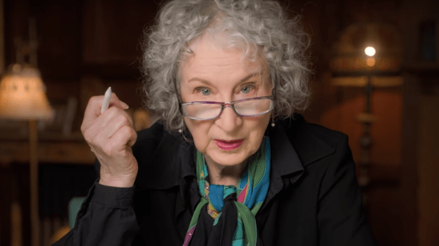 Exclusive Clip: Margaret Atwood Says a &#8220;Sinister&#8221; Old Dutch Cleanser Ad Inspired <i>Handmaid&#8217;s Tale</i> Costumes