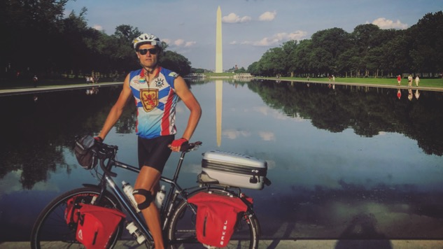 Read Rich Aucoin's Tour Diary as He Bikes Across America: Volume 7