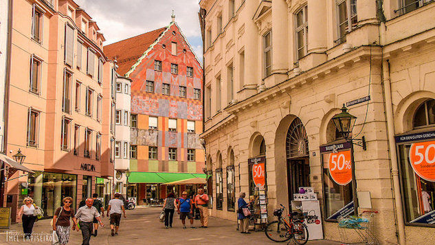 World Running Guide: Augsburg, Germany