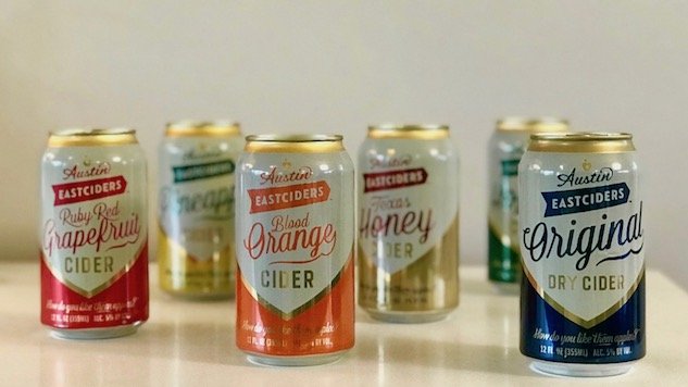 Drinking 6 Ciders from Austin Eastciders