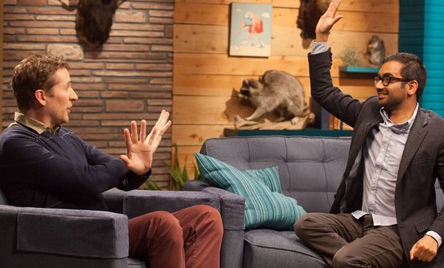"<i>Comedy Bang! Bang!</i> Review: ""Aziz Ansari Wears A Charcoal Blazer"" (Episode 2.02)"