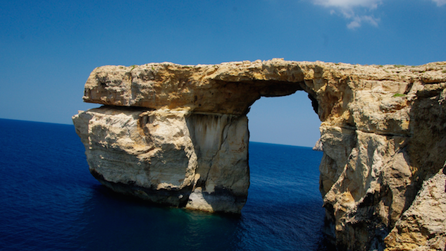 Malta's Azure Window Falls Victim to the Sea