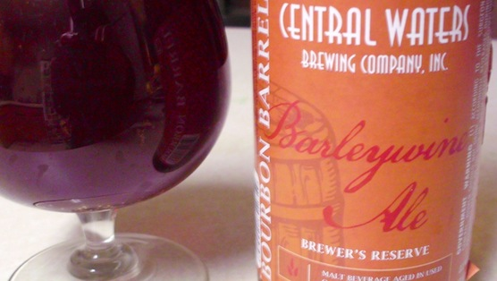 Central Waters Bourbon Barrel Barleywine Review