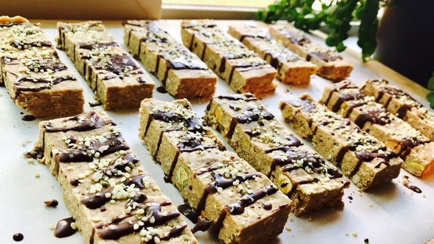 Recipe for Fitness: Hemp Seed Protein Bars