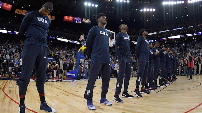 What Team Usa Basketball U0026 39 S Starting Lineup Should Look