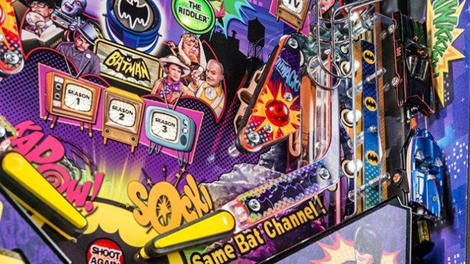 Stern's <i>Batman '66</i> Pinball Machine Looks Fantastic in These New Photos