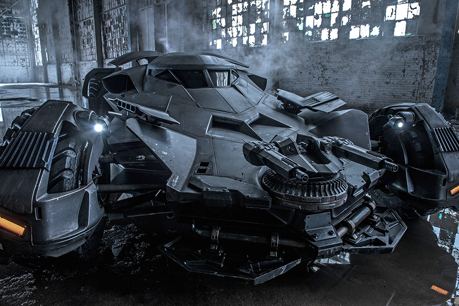 Zack Snyder Teases Batman v Superman Batmobile Photo ...