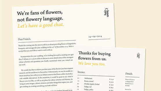 25 examples of excellent letterhead design design galleries