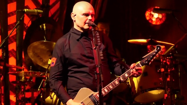 "Watch Smashing Pumpkins Cover ""Fire and Rain"" by James Taylor Live in New Jersey"