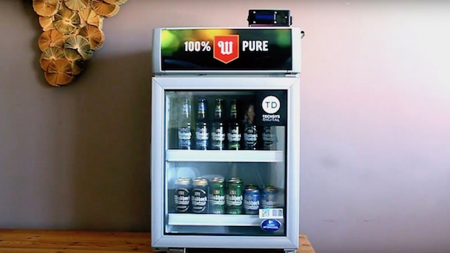 This Beer Fridge Rewards Good Behavior