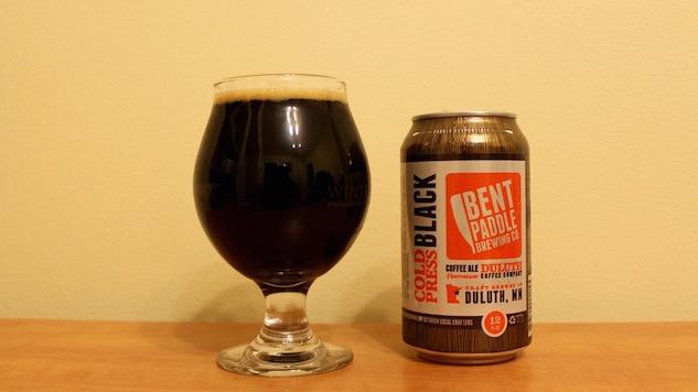 Bent Paddle Cold Press Black Ale Review