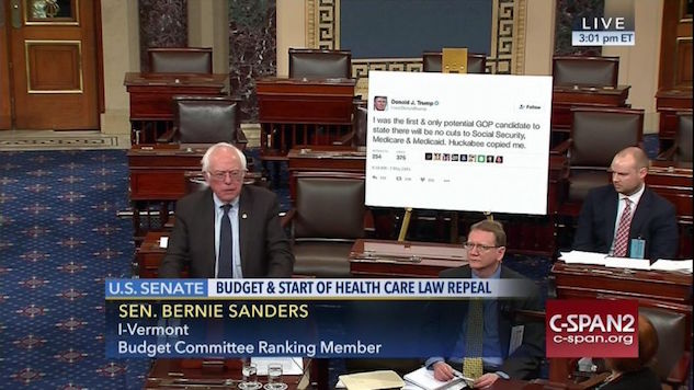 The Funniest Tweets about Bernie Taking on Trump's Twitter