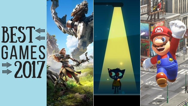 The 30 Best Games of 2017