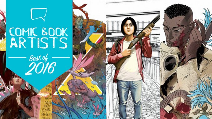 The 15 Best Comic Artists of 2016