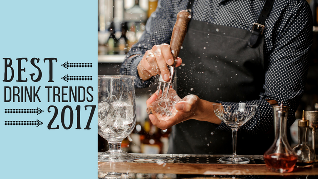 The Best Beer and Cocktail Trends of 2017