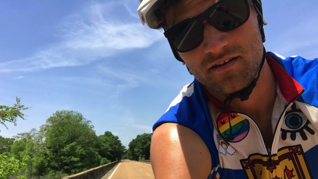 Read Rich Aucoin's Tour Diary as He Bikes Across America: Volume 6