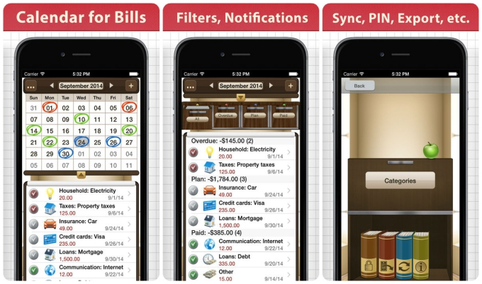 10 Cheap Apps for Keeping Your Bills in Check :: Tech