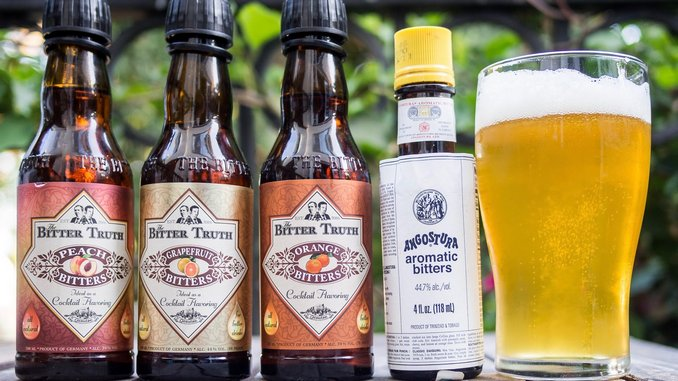 DIY Flavored IPAs with Cocktail Bitters