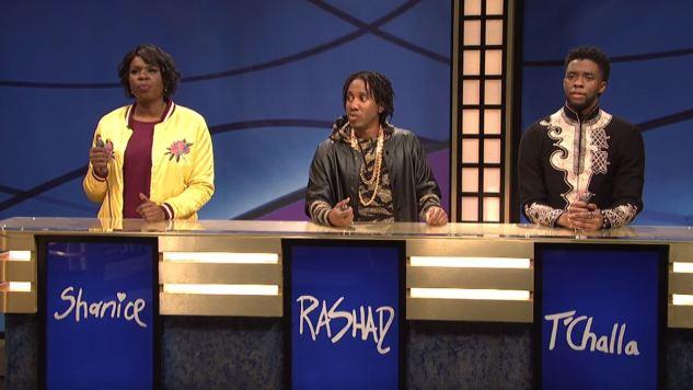 Watch Marvel's Black Panther Play <i>SNL</i>'s Black Jeopardy