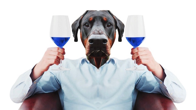 Blue Wine For Millennials Might Be The End Of The World