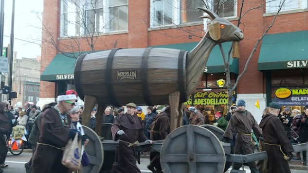 Cincinnati Has a Parade For Bock Beer That You Have To See