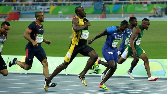"Usain Bolt Is Feeling Pretty Relaxed About The Whole ""Fastest Man"" Thing"