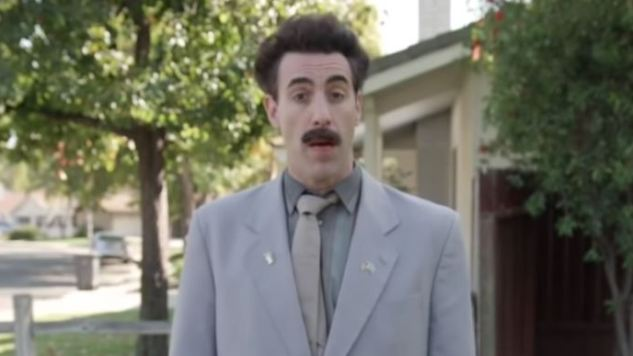 Borat Canvasses for Trump on <i>Jimmy Kimmel Live</i>