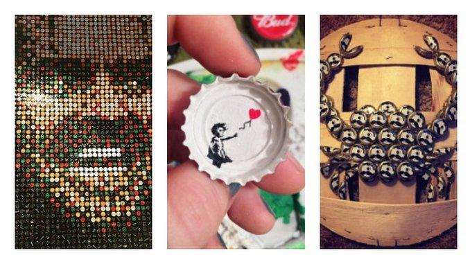 Instagallery: 20 Amazing Pieces of Bottle Cap Art
