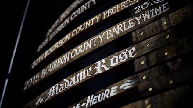 2015 Goose Island Bourbon County Barleywine Review