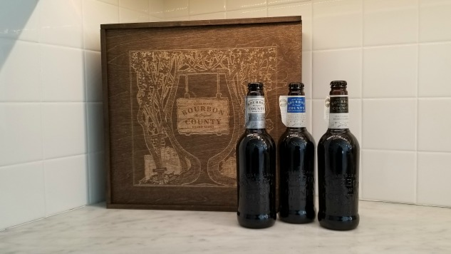 Drinking Three of Goose Island's 2017 Bourbon County Variants