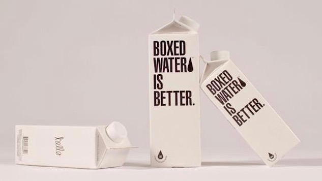 Drink Boxed Water, Plant a Tree, Save the World