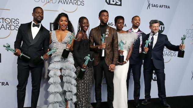<i>Black Panther</i>, <i>The Marvelous Mrs. Maisel</i> Win Big at 2019 SAG Awards
