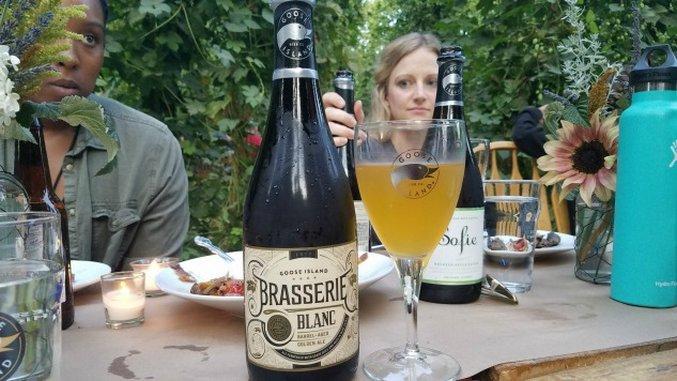 Goose Island Brasserie Blanc Review