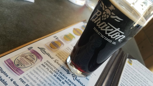 Graeter's Black Raspberry Chocolate Chip Milk Stout Review