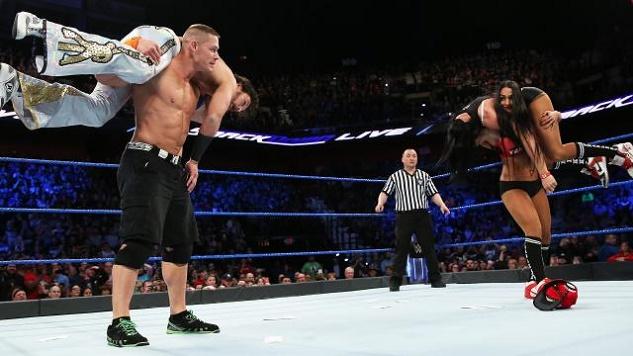 Watch Shane McMahon Put AJ Styles Through A Table