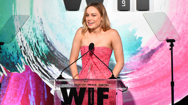 Brie Larson Advocates for Inclusion Among Film Critics During Award Acceptance Speech
