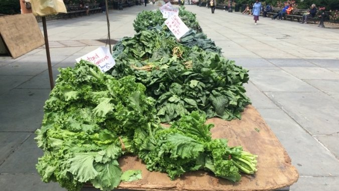 Farmers' Market Fetish: Borough Hall, Brooklyn