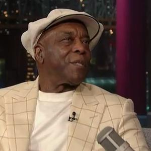 Watch Buddy Guy Talk Muddy Waters on <i>Letterman</i>