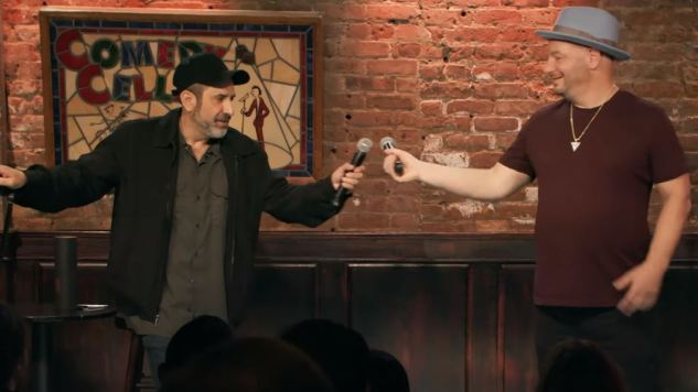 Dave Attell and Jeff Ross Burn Each Other in the First Trailer for <i>Bumping Mics with Jeff Ross & Dave Attell</i>