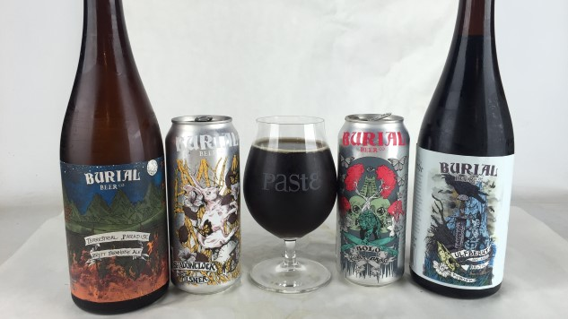 Asheville's Latest: Tasting Five Brews from Burial Beer Co.