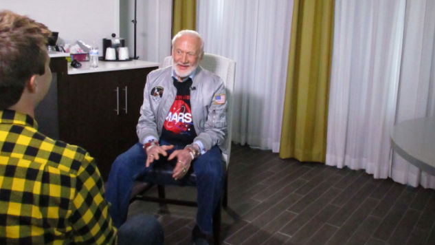 Buzz Aldrin: The Man, The Hologram