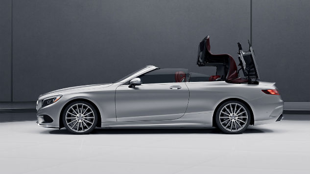 What The 2017 Mercedes Benz S550 Cabriolet Gets Right