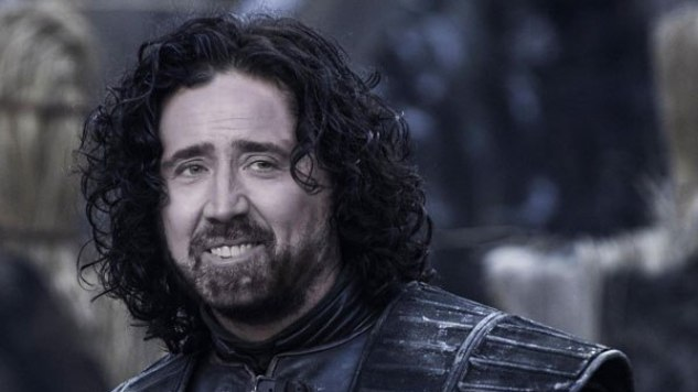 Cage of Thrones: Nicolas Cage as the Entire Cast of <i>Game of Thrones</i>