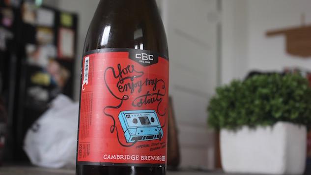 Cambridge Brewing You Enjoy My Stout Review