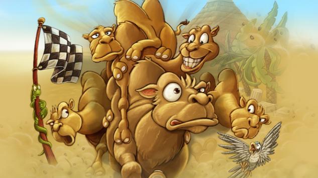 <i>Camel Up</i> Boardgame Mobile App Review