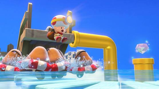 Captain Toad: Treasure Tracker—Toad's Wild Ride - Paste